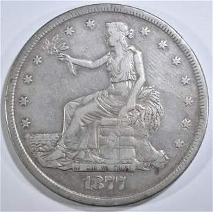 1877-S TRADE DOLLAR XF