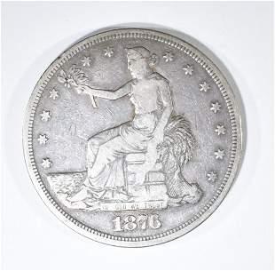 1876 TRADE DOLLAR  FINE