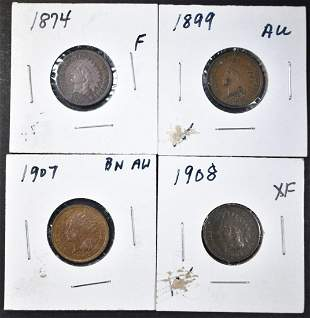 INDIAN CENT LOT;
