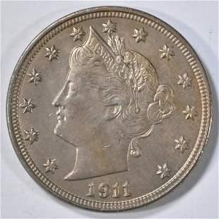 1911 LIBERTY NICKEL BU