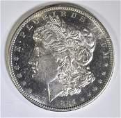 1884-S MORGAN DOLLAR  CH BU  PL