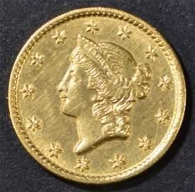 1851-C GOLD DOLLAR  CH BU