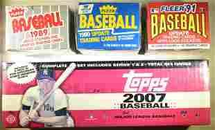 MIXED LOT OF BOXED BASEBALL CARDS