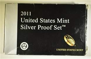 2011 U.S. MINT SILVER PROOF SET