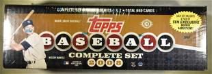 2008 TOPPS BASEBALL COMPLETE SET SEALED