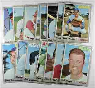15 1970 TOPPS BASEBALL CARDS NM+