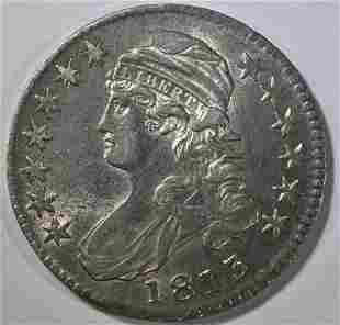 1813 BUST HALF DOLLAR CH AU