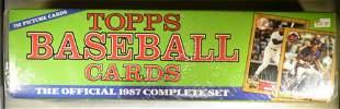 1987 TOPPS BASEBALL COMPLETE SET SEALED