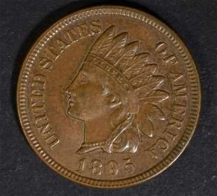 1895 INDIAN HEAD CENT GEM BU BN