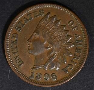1896 INDIAN HEAD CENT CH AU