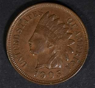 1905 INDIAN HEAD CENT CH BU BN