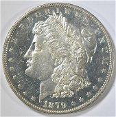 1879-O MORGAN DOLLAR  GEM BU DMPL