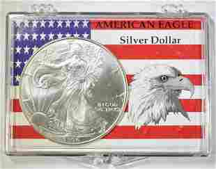 1996 AMERICAN SILVER EAGLE BU BETTER DATE
