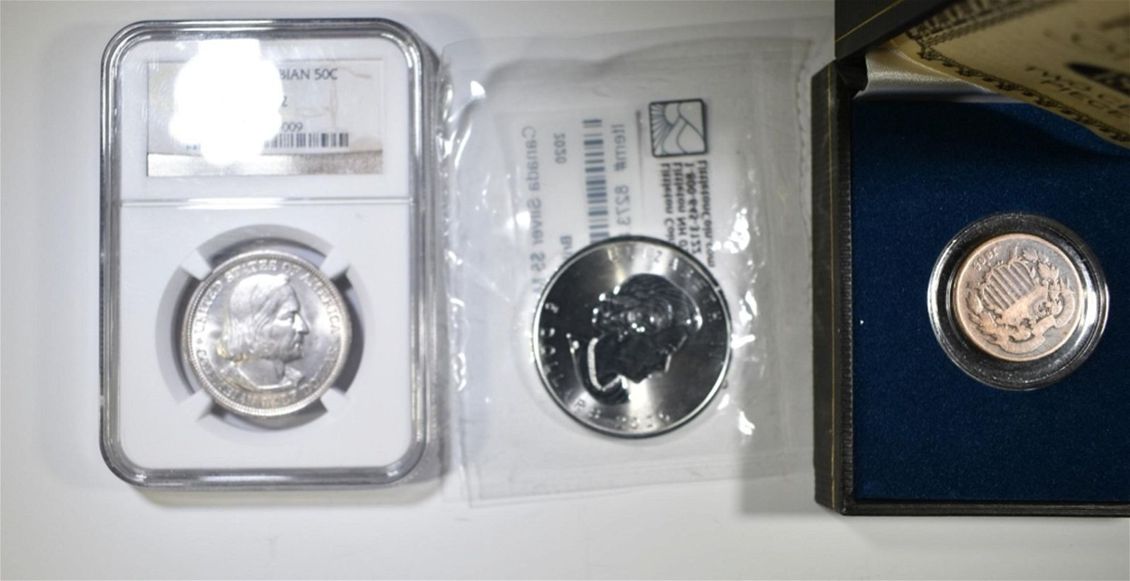 3-TYPE COIN LOT: