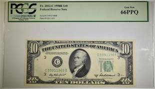 1950 B $10 FRN PCGS 66 PPQ Fr#2012-C