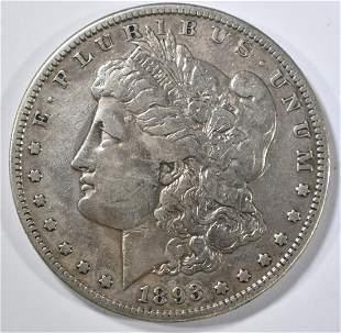 1893-S MORGAN DOLLAR VF