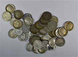$4.50 FACE VALUE 90% SILVER DIMES