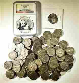 MIXED COIN LOT: