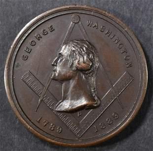 1889 GEORGE WASHINGTON MASON MEDAL