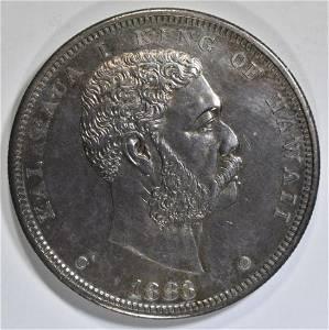 1883 HAWAII DOLLAR CH BU
