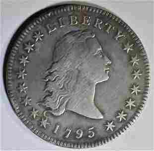 1795 FLOWING HAIR DOLLAR F/VF