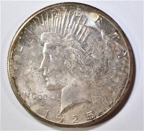 1925-S PEACE DOLLAR  GEM ORIG. UNC