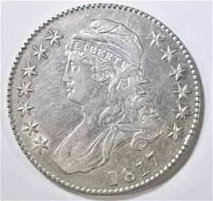 1817 BUST HALF DOLLAR AU