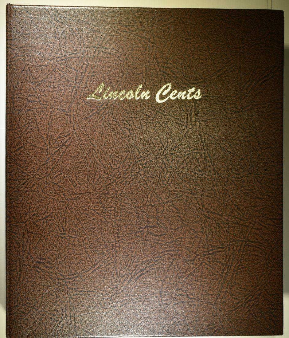 LINCOLN CENT DANSCO ALBUM 1909-2013 (259 COINS)