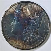 1895-S MORGAN DOLLAR BU COLOR