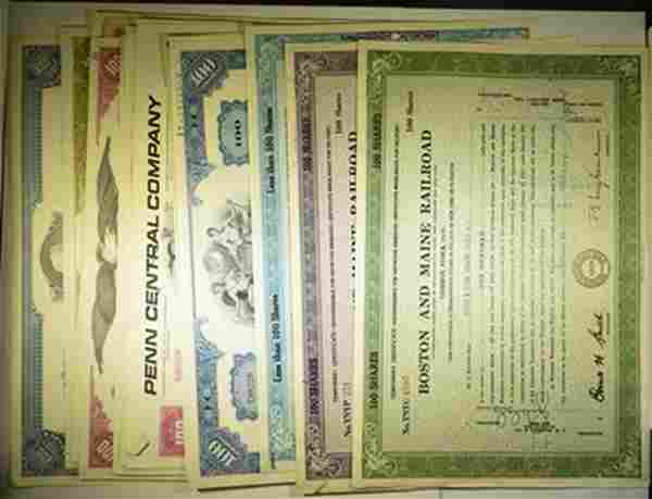 20- CANCELLED STOCK CERTIFICATES