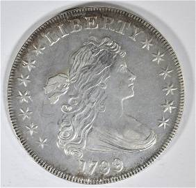 1799 BUST DOLLAR  BU  OLD CLEANING