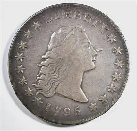 1795 FLOWING HAIR DOLLAR XF