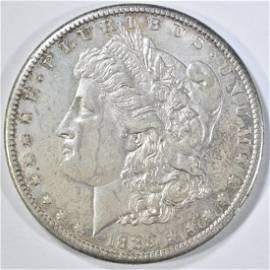 1889-CC MORGAN DOLLAR  CH ORIG UNC