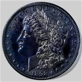 1898 MORGAN DOLLAR GEM PROOF NICE COLOR