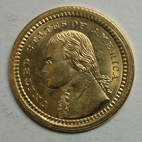 13: 1903 Jefferson Gold Dollar BU