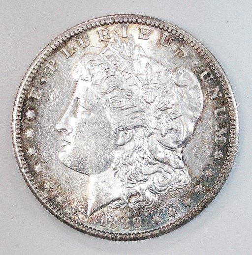 3: 1889S Morgan $  MS61