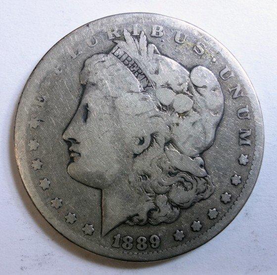 5: 1889CC Morgan $  G/VG