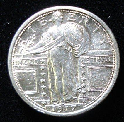 22: 1917 T1 quarter  MS63