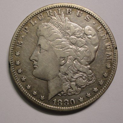 16: 1880CC Morgan $ VF