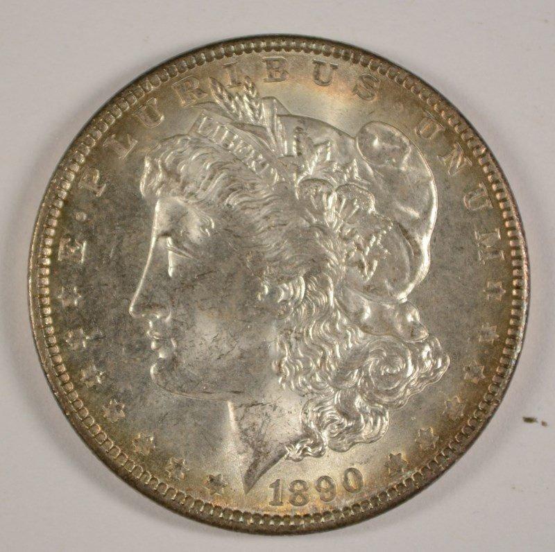 1890 MORGAN DOLLAR MS-63