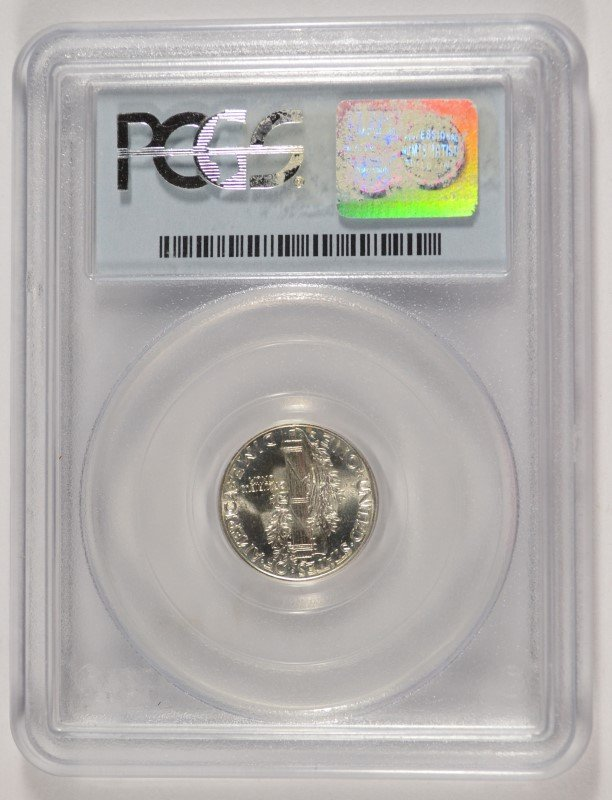 1941 D Mercury Dime PCGS MS66FB Nice - 4