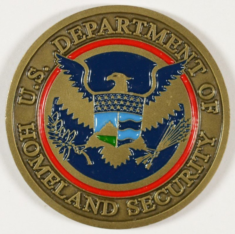 RARE DEPARTMENT OF HOMELAND SECURITY FEDERAL LAW