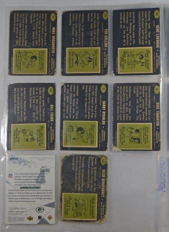 BRETT FAVRE 2003 SPX MATERIAL CARD VALUE AT $150 PLUS - 2
