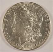 1891CC MORGAN DOLLAR AU58 LOOKS BU