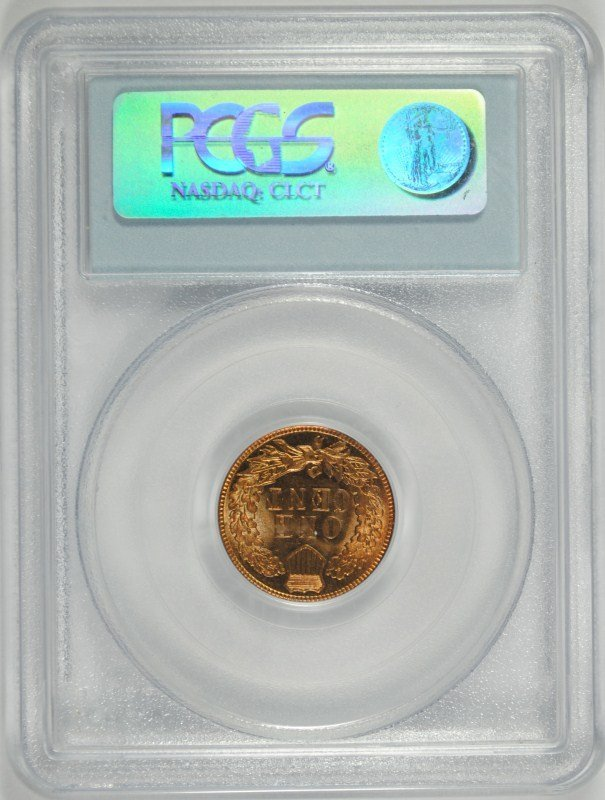 1905 INDIAN HEAD CENT, PCGS MS-63 BN - 4