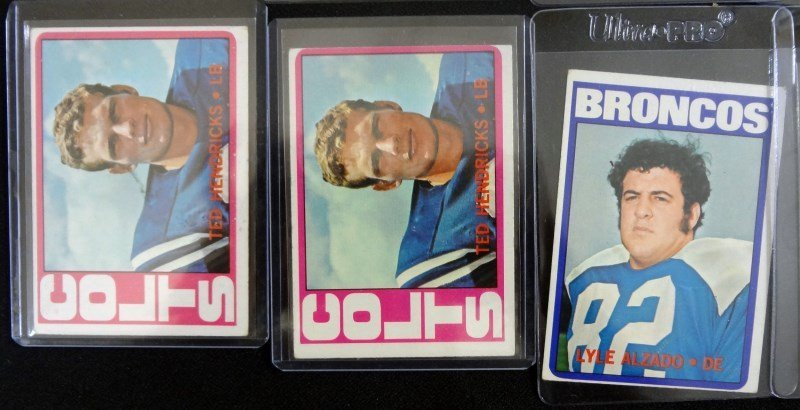 46 - 1972 TOPPS FOOTBALL CARDS - MOSTLY STARS - AVG EX - 4