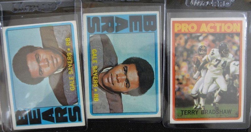 46 - 1972 TOPPS FOOTBALL CARDS - MOSTLY STARS - AVG EX - 5