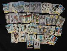 OVER 250 1979 TOPPS BASEBALL - MOSTLY STAR CARDS IN