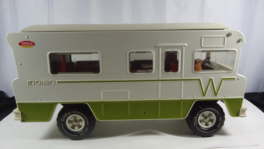 Vintage Tonka Winnebago Indian Camper  Toy