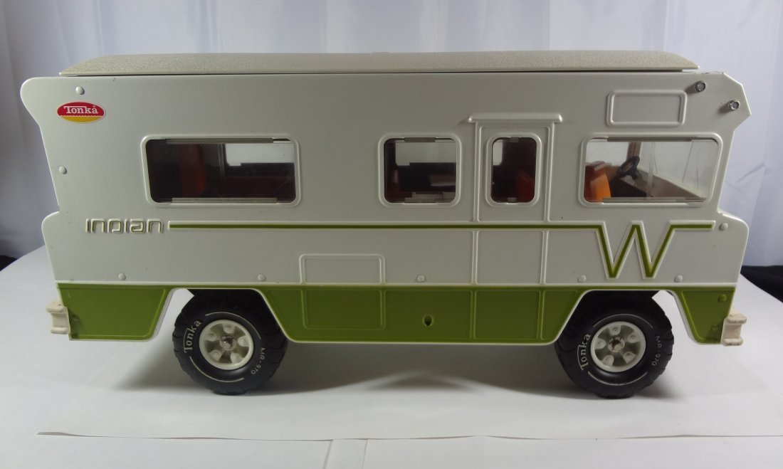 Vintage Tonka Winnebago Indian Camper  Toy - 2